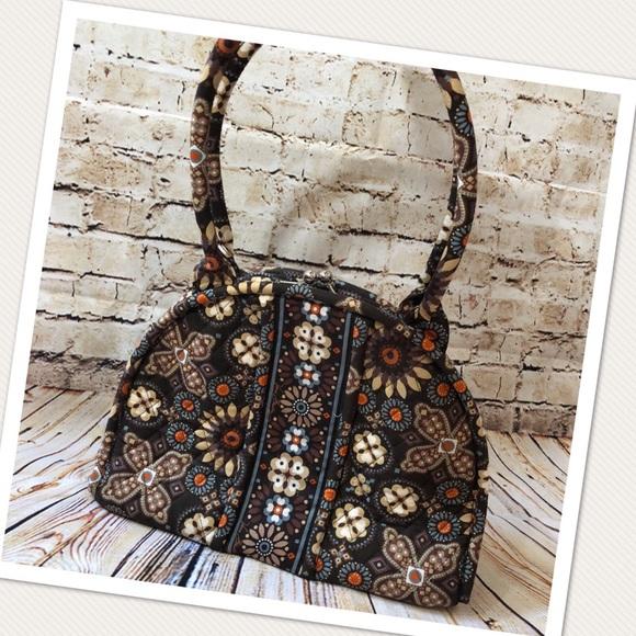fce7d37026 Vera Bradley Canyon Pattern Eloise Handbag. M 5b576f18c2e88ec2503c95f4